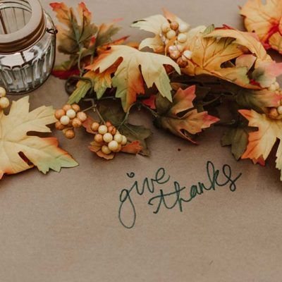 November 2018 – Give Thanks
